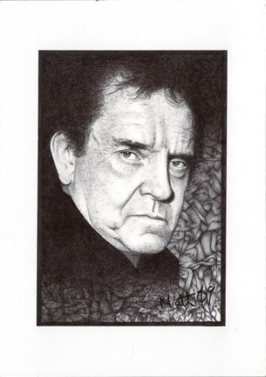Johnny Cash by Petrol